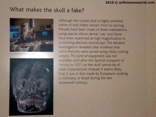 Write up in British Museum