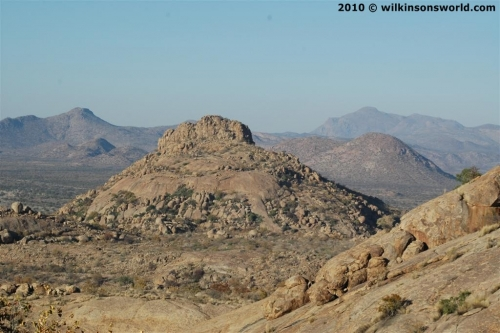 Dassie habitat - rocky mountains