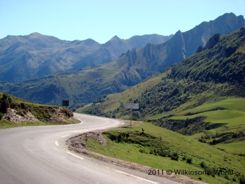 View from the top of Col du Soulor