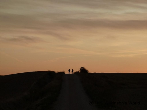 Dawn on the Camino