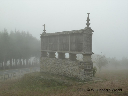 Horreo in the mist