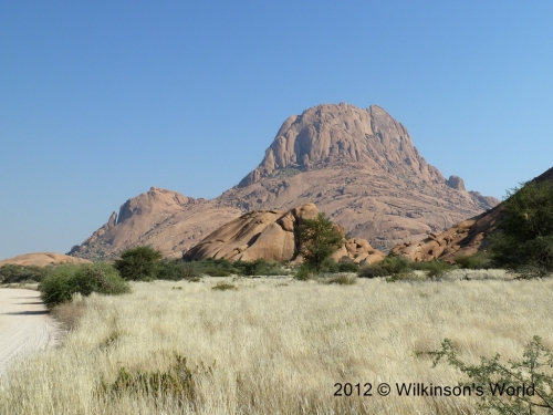 Beautiful scenery at Spitzkoppe