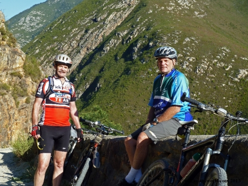 5 - Day 2 - Rob & Ken on Montagu Pass