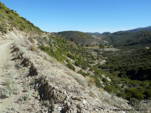 13 - Day 5 - Scenery on the road to Cloete's Pass
