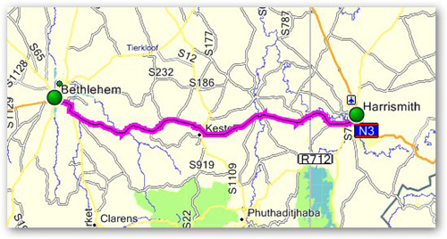 Day 11 - Bethlehem to Harrismith