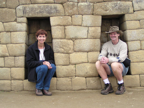 Jane & Rob at Machu Picchu