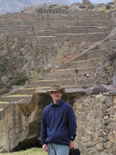 Rob at Ollantaytambo