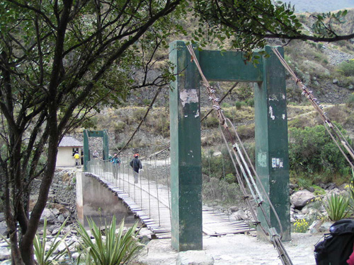 Start of Inca Trail - Km 82