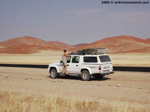 En route to Sossusvlei