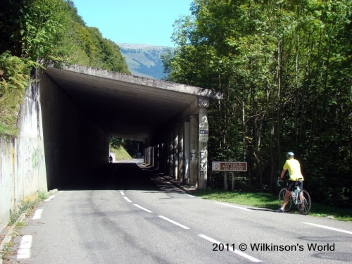 Bridge on the Col du Tourmalet