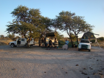 Campsite at Passarge