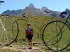 Bikes at the top of col d'Aubisque